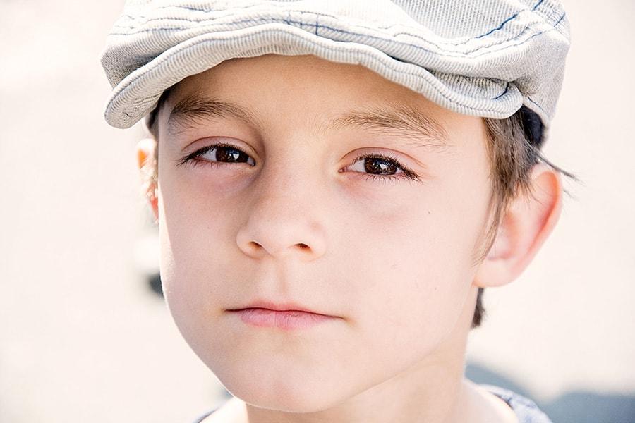portret dečka