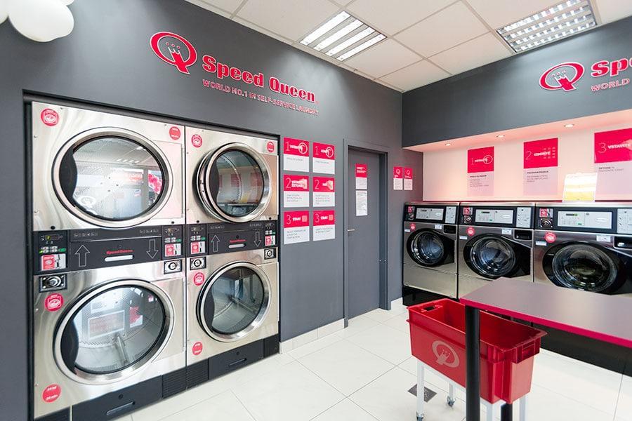 Interier pralnice za spletno stran