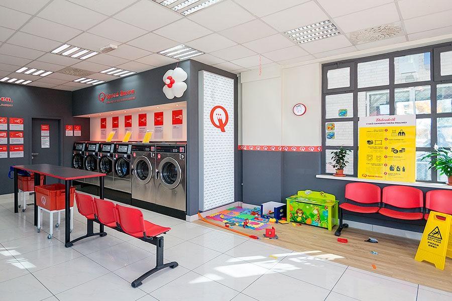 Foto pralnice znotraj