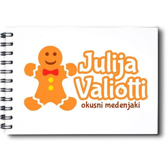 Oblikovanje logotipa za izdelavo medenjakov
