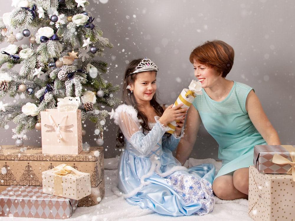 božično fototgrafiranje družin cena