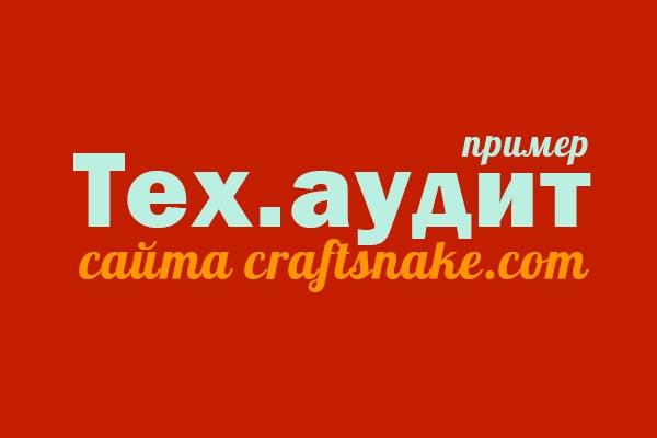Пример тех.аудита
