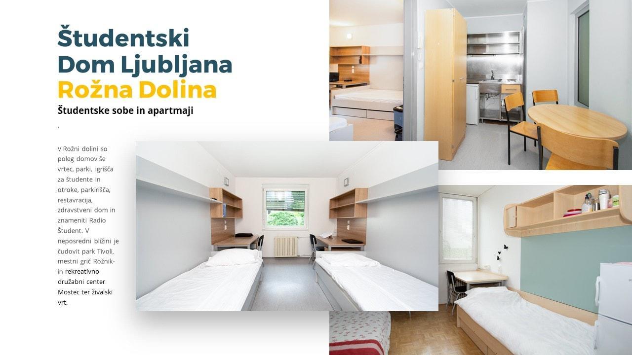 predstavitev Studentski Dom Ljublakna