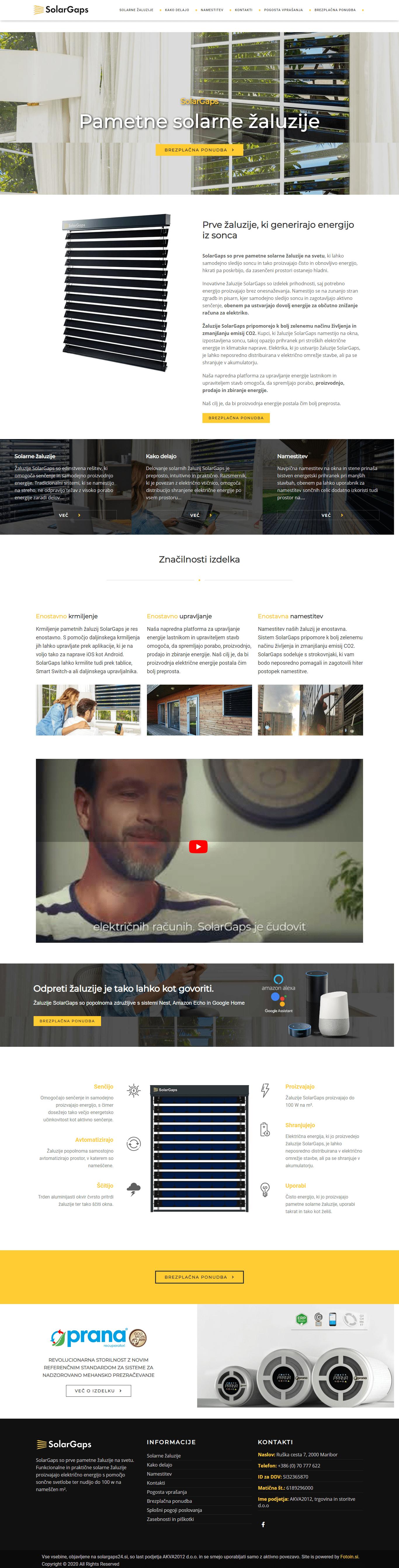 Izdelava spletnih strani solargaps
