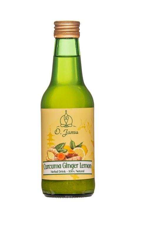 steklenica kurkuma ginger lemon