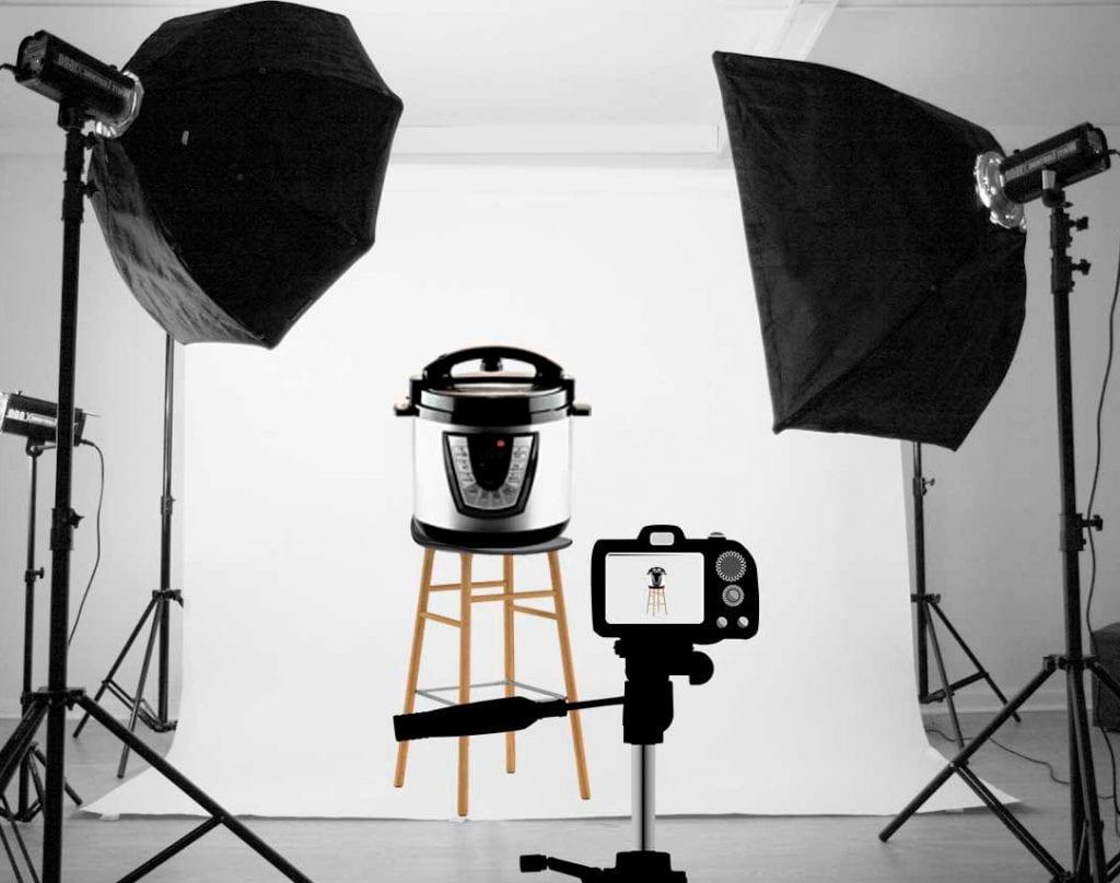 Fotografiranje izdelkov v foto-studiu v Ljubljani